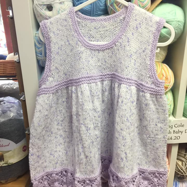 Girl's Knitted Dress
