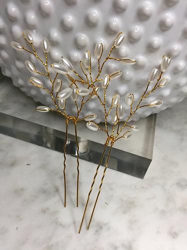 Handmade Adjustable Wire Hair Pins