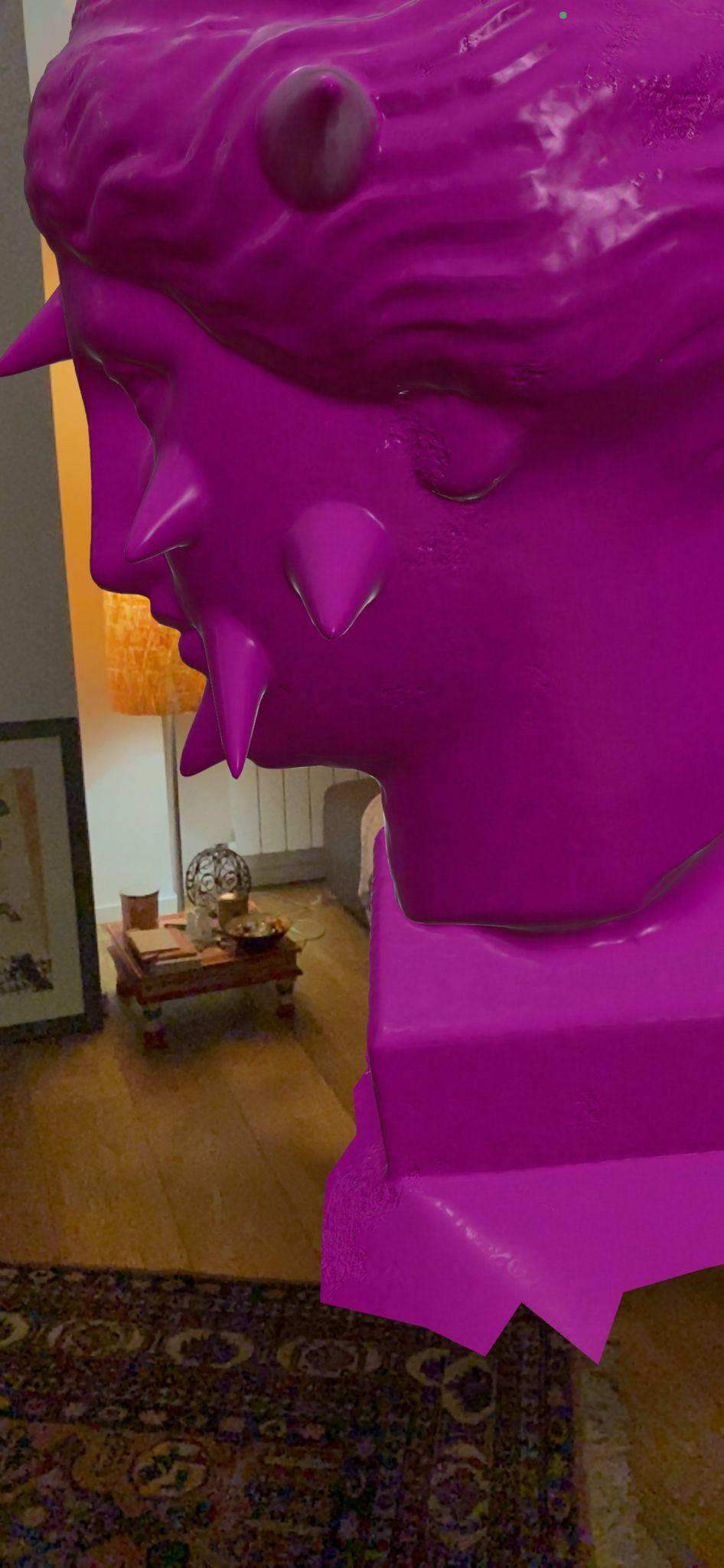 Pink Venus Virtual Sculpture by Francesca Fini