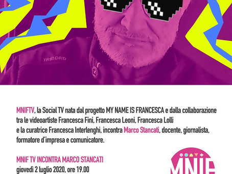 MNIF TV incontra Marco Stancati