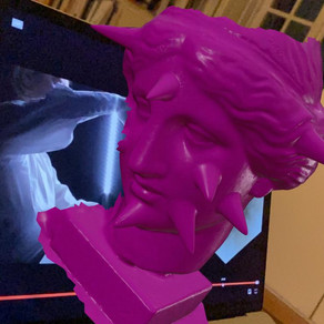 Pink Venus in Augmented Reality