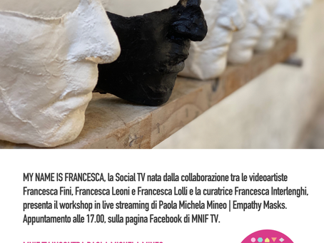 MNIF TV | live streaming workshop con Paola Mineo