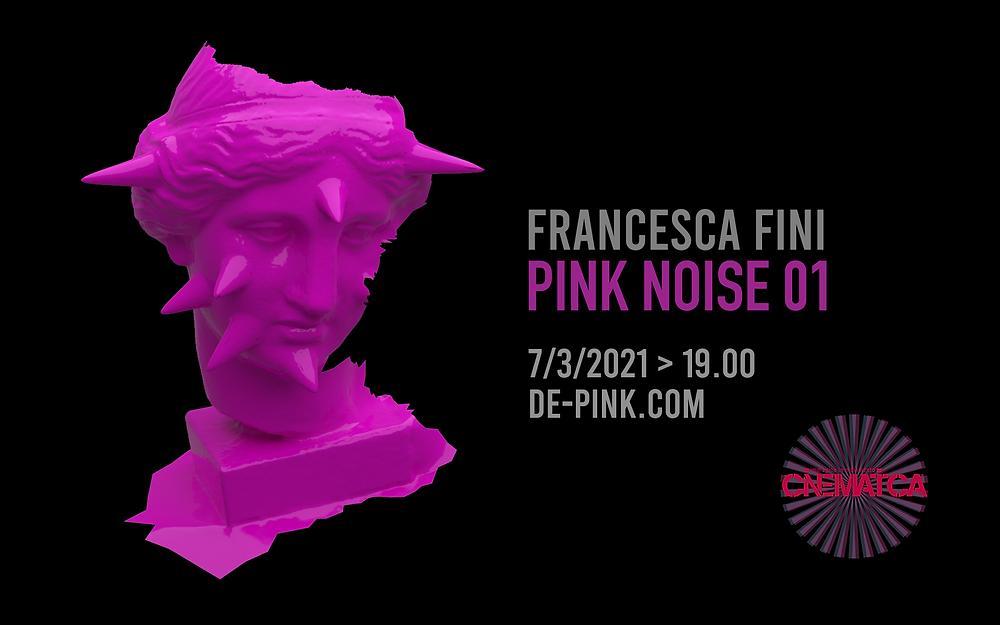 Pink Venus interactive digital performance by Francesca Fini