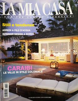 La Mia Casa Magazine Cover