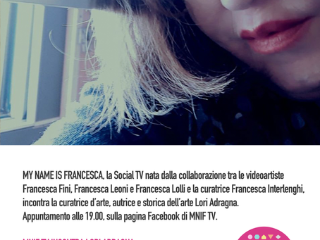 MNIF TV incontra Lori Adragna
