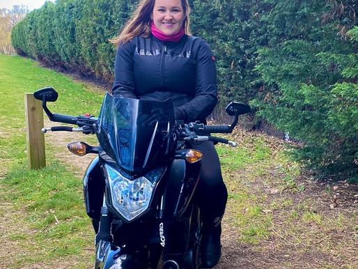 Jess: Berkshire biker babe