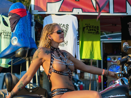 Annie: Awesome Annie, beautiful bike fan from Texas...