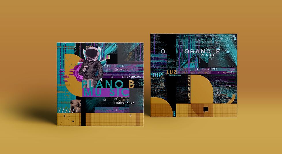 marca logo identidade visual branding cd cover art album