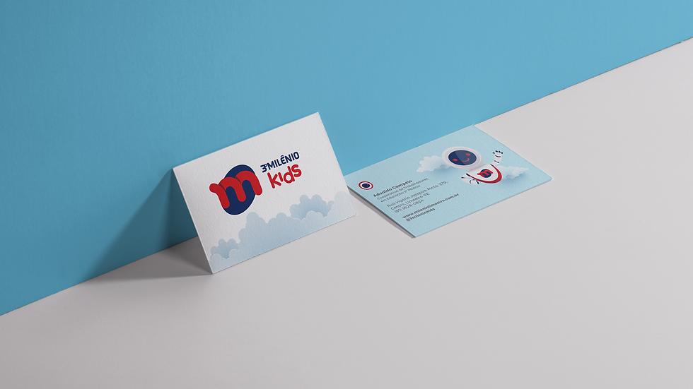 marca logo identidade visual branding cartao de visitas