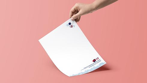 marca logo identidade visual branding papelaria