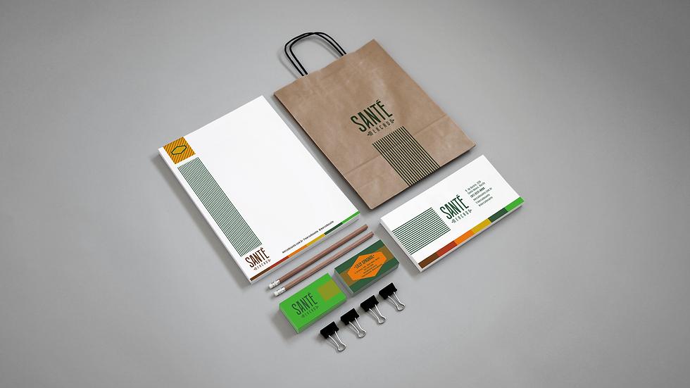 logo marca identidade visual branding papelaria cartão de visitas timbrado