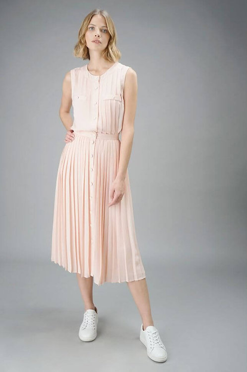 Long pleated skirt 142101