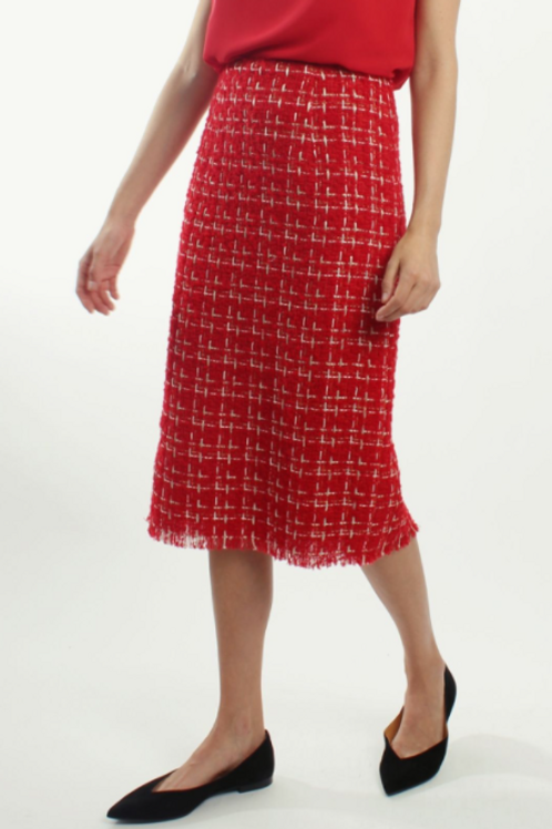 132101 - Long  straight skirt