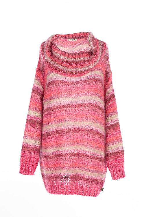 202TP3270	- KNITTED SWEATER - RIGA MULTI