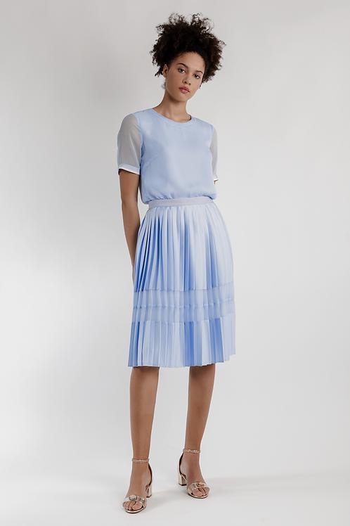 122006 - Short pleated skirt