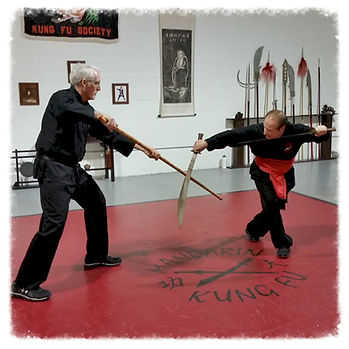 kung fu weapon training