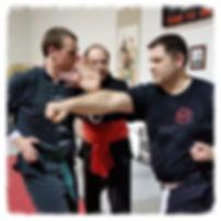 Adults training at Kung Fu