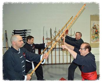 kung fu weaon training