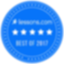 Lessons.com Best of 2017 badge