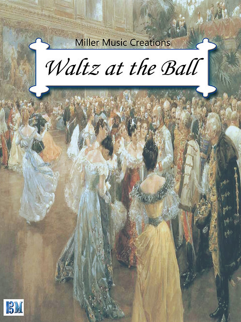 Waltz at the Ball - Concert Band Conductor Score & Parts (PDF Version)