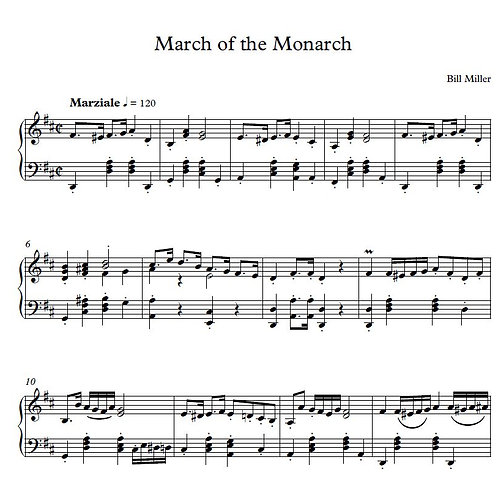 March of the Monarch (PDF Version)