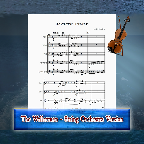 The Wellerman - String Orchestra Conductor's Score and Parts (PDF Version)