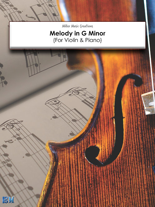 Melody in G Minor (PDF Version)