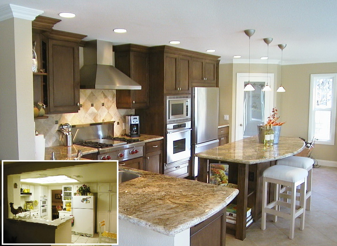 Laguna Niguel Traditional kitchen and addition B4aA