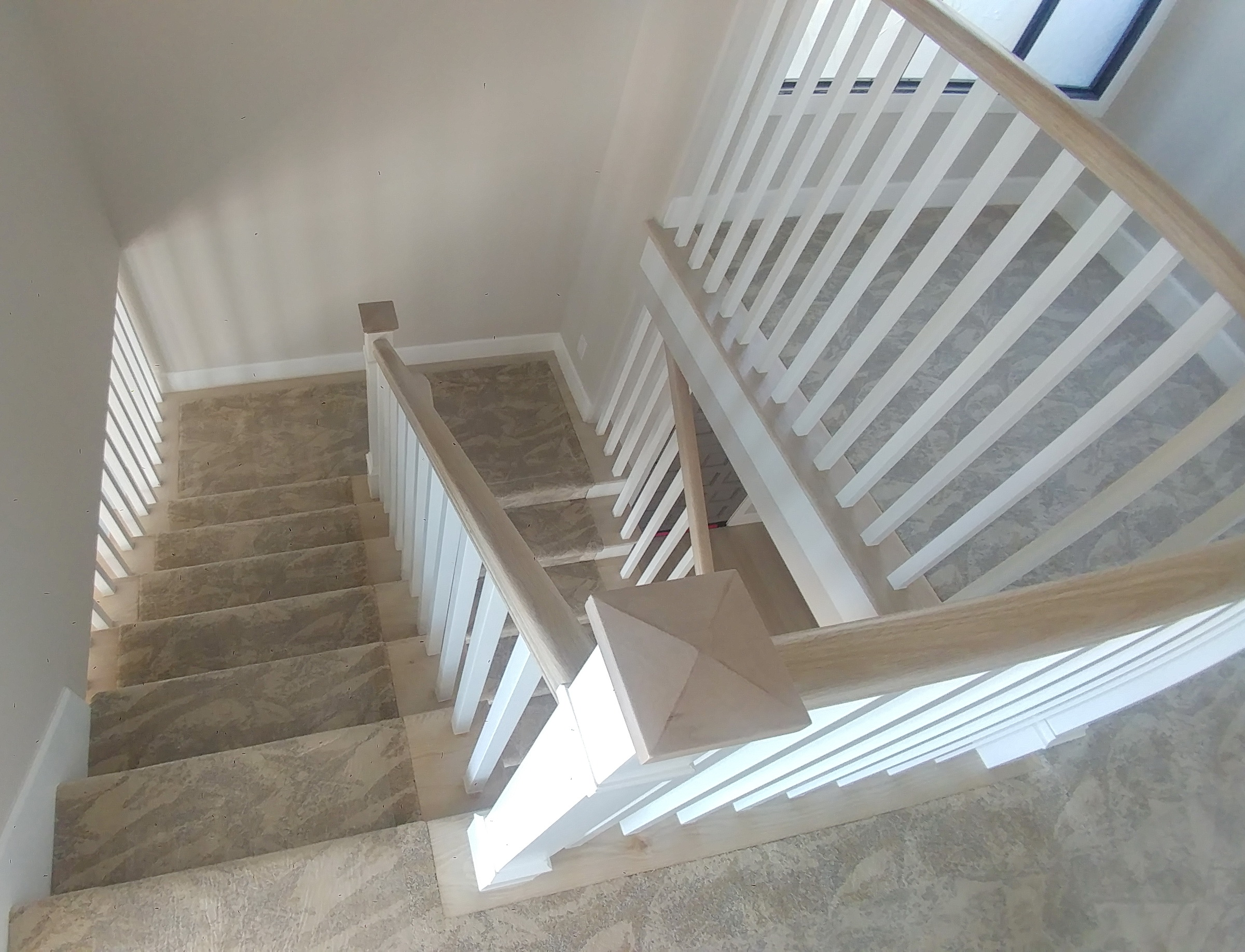 San Clemente beach condo Sav staircase
