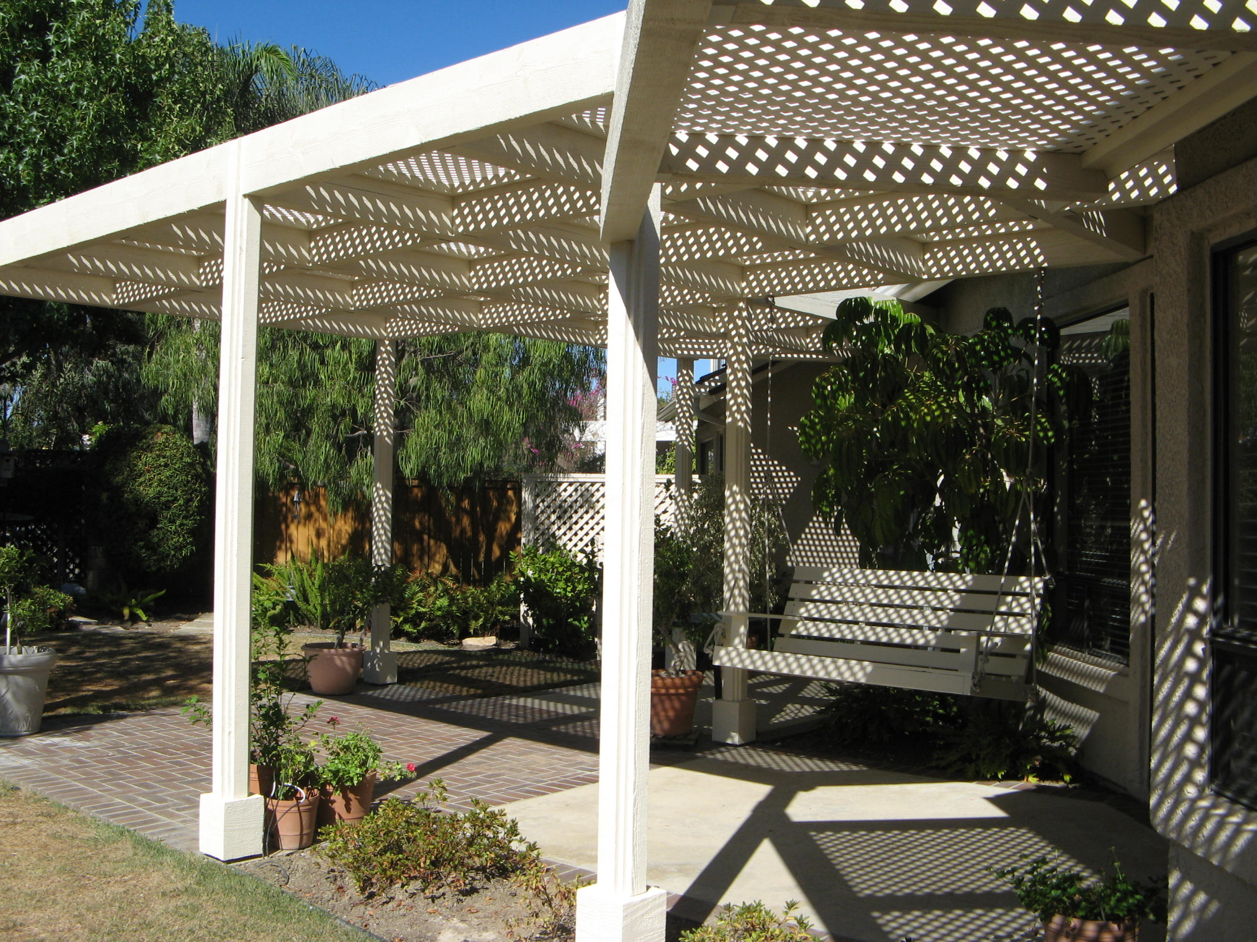 Custom patio cover 1/2