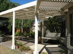 Custom patio cover 1/2