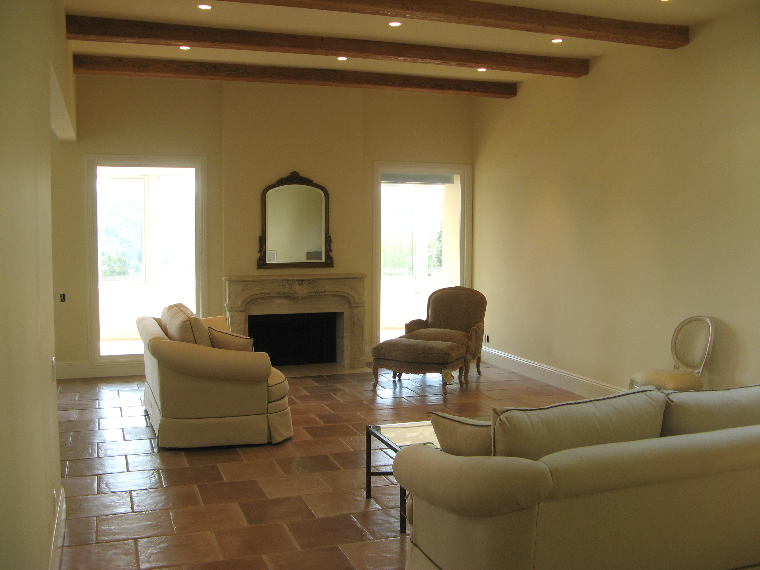 Laguna Woods elegant living room