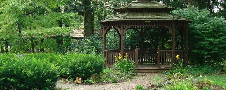 Gazebo in the Children's Garden availabl