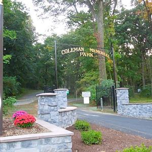 Coleman Memorial Park - Today