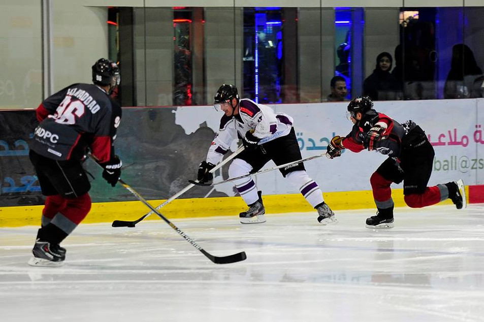 Abu Dhabi Storms in Action- Hockey Unifo