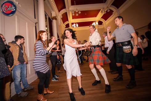 Virginia Reel at Edinburgh Ceilidh Club