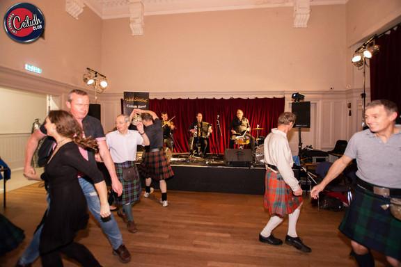 Playing at Edinburgh Ceilidh Club