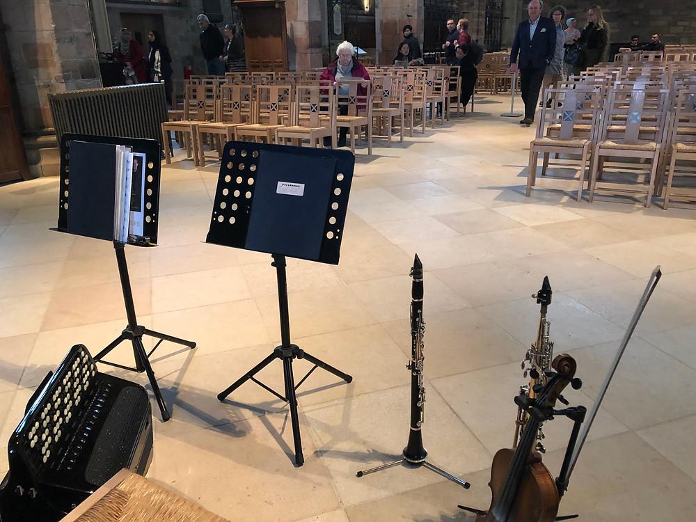 Chamberlain & Haywood concert Edinburgh