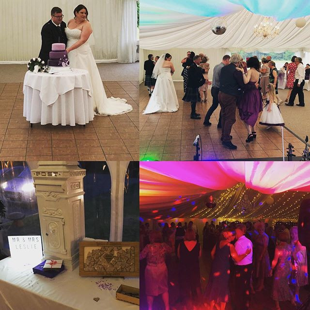 Wedding at Melville Castle with HotScotch Ceilidh Band