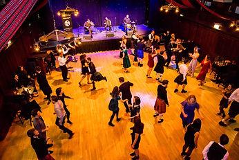 HotScotch Ceilidh Band in Edinburgh's Te