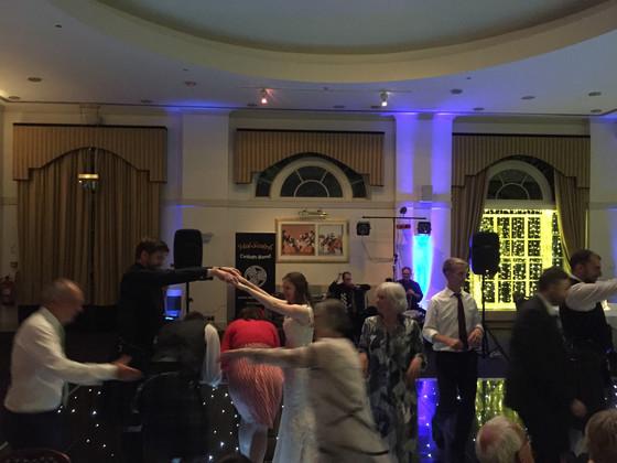 Ceilidh Dancing at Balbirnie House Hotel