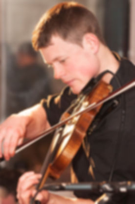 Fiddle Player in HotScotch Ceilidh Band Michael Haywood