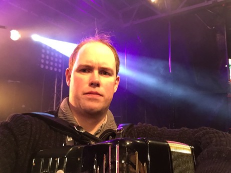Paul Chamberlain - Accordionist with HotScotch Ceilidh Band