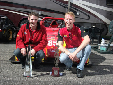 Champions, Radical UK cup Chris Dymond, Ross Allen