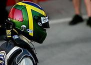 Headrest mount designer Chris Dymond