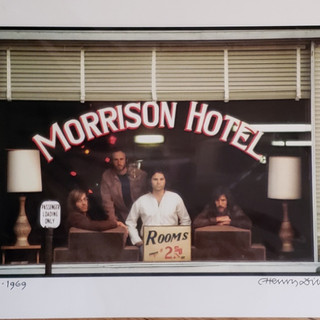 Bid on Doors Morrison Hotel by Henry Diltz