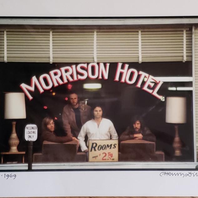 Bid on Doors Morrison Hotel by Henry Diltz