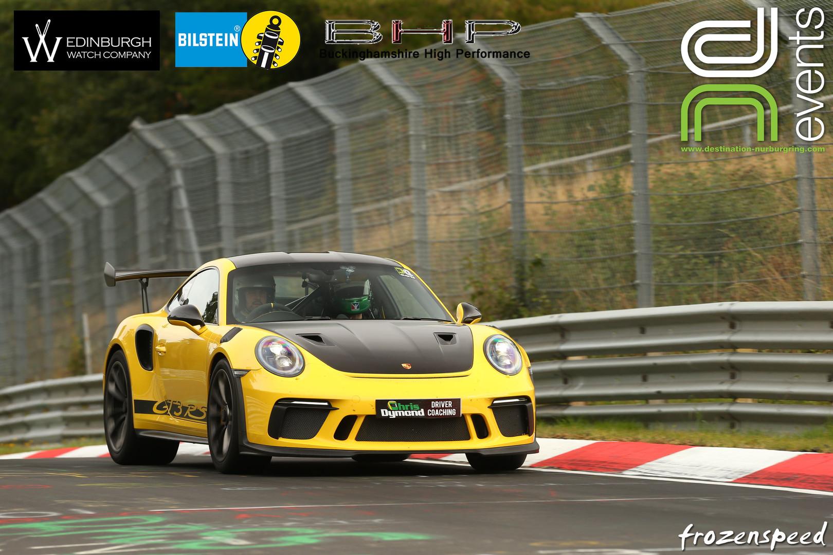 Porsche GT3RS Nurburgring
