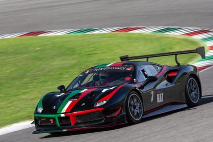 Ferrari 488 challenge Mugello