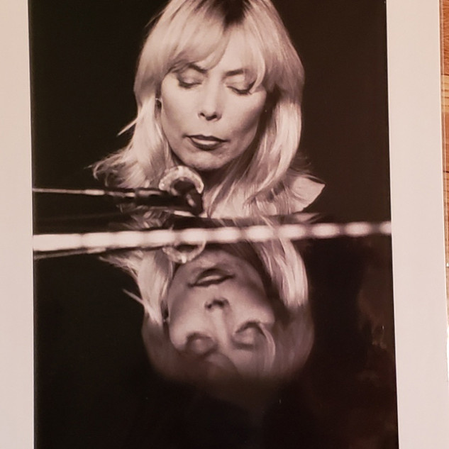 Bid on Rare photo Joni Mitchell by Henry Diltz